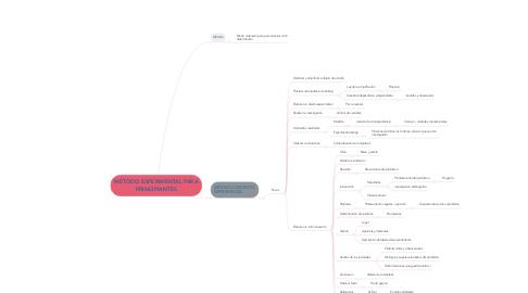 Mind Map: MÉTODO EXPERIMENTAL PARA PRINCIPIANTES