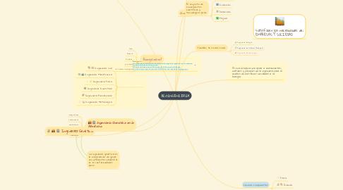 Mind Map: BIOINGENIERIA