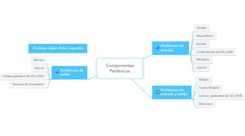 Mind Map: Componentes Perifericos