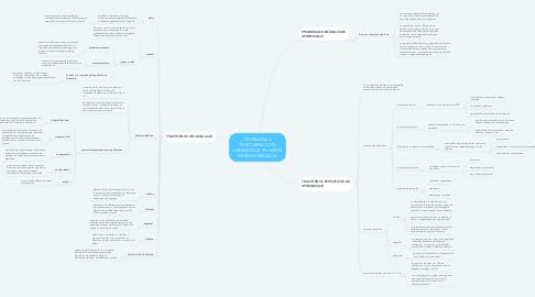 Mind Map: PROBLEMA Y TRASTORNOS DEL APRENDIZAJE EN NIÑOS EN EDAD ESCOLAR.