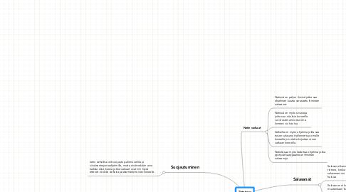 Mind Map: Tietoturvanetissä