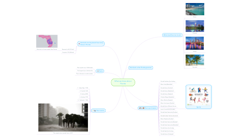 Mind Map: What we know about Florida