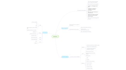 Mind Map: Interaction
