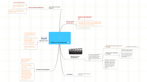 Mind Map: Malcolm X: The Assassination
