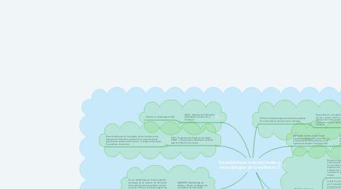 Mind Map: Estándandares internacionales y metodologías de la auditoria IT