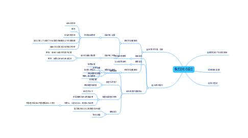 Mind Map: 株式会社の設立