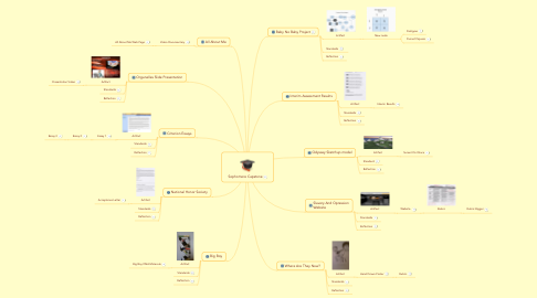 Mind Map: Sophomore Capstone