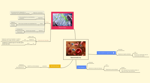 Mind Map: Nanomedicina
