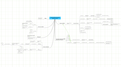 Mind Map: PRODUCCIÓN DE SOFTWARE EDUCATIVO, MEC's