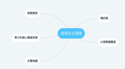 Mind Map: 返家生活適應