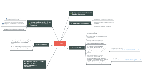Mind Map: NIA 300