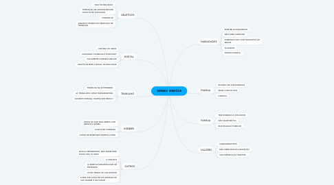 Mind Map: SERGIO VINICIUS