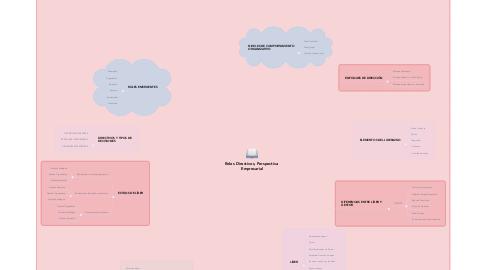 Mind Map: Roles Directivos, Perspectiva  Empresarial