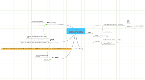 Mind Map: Imperian: EQ/BAL Tracking Module Using Mudbot and Mudlet