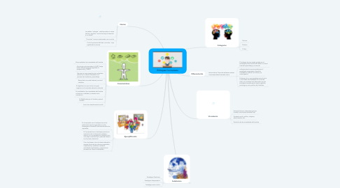 Mind Map: Enfoques Curriculares