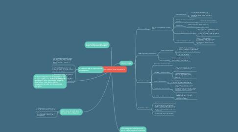 Mind Map: El proceso de Investigación