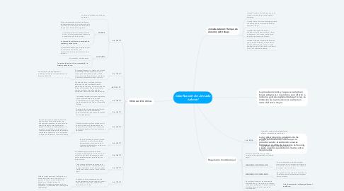 Mind Map: Clasificación de Jornada Laboral