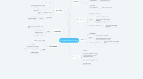 Mind Map: Antropologías específicas