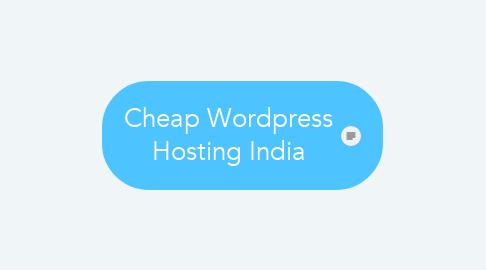 Mind Map: Cheap Wordpress Hosting India