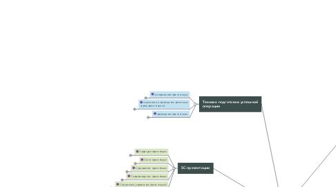 Mind Map: Презентация и продвижение