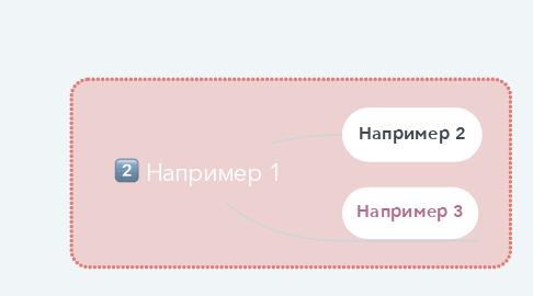 Mind Map: Например 1