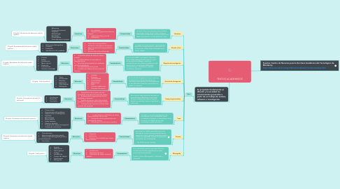 Mind Map: TEXTOS ACADEMICOS