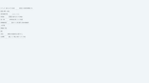 Mind Map: kazue やることリスト