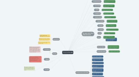 Mind Map: Principios Éticos