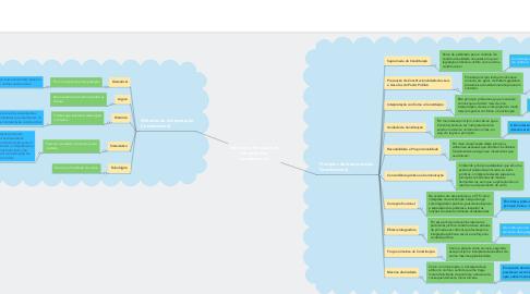 Mind Map: Métodos e Princípios da Interpretação Constitucional