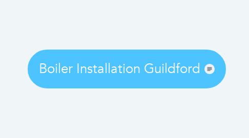 Mind Map: Boiler Installation Guildford