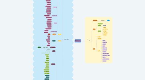 Mind Map: Попугаи
