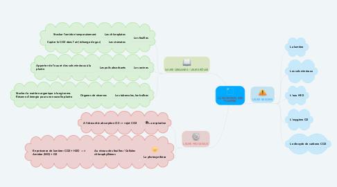 Mind Map: LA NUTRITION DES PLANTES
