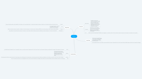 Mind Map: Risico's