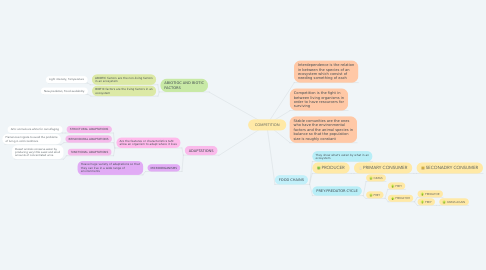 Mind Map: CONSEQUENCES OF THE EXPEDITIONS