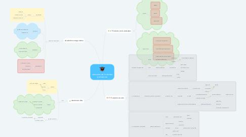 Mind Map: relaciones del individuo profesional