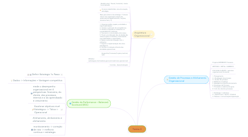 Mind Map: Termo 3