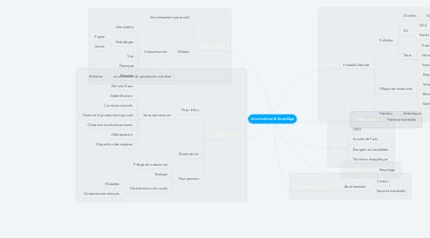 Mind Map: Accumulation & Gaspillage