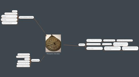 Mind Map: Planispheric Astrolabe