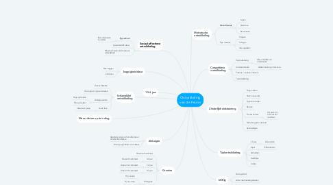 Mind Map: Ontwikkeling van de Peuter