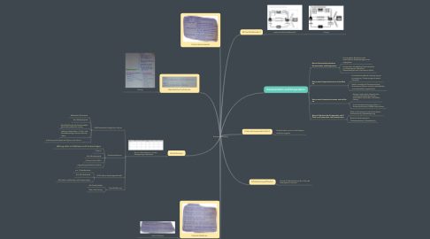 Mind Map: Klausurvorbereitung