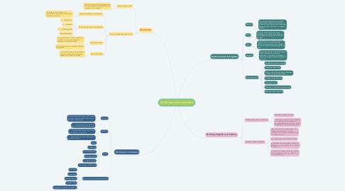 Mind Map: Temas del cuanto bimestre