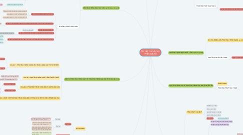 Mind Map: ÔN TẬP THI HỌC KÌ I PHẦN ĐẠI SỐ