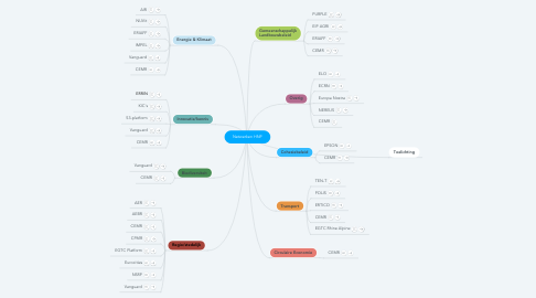 Mind Map: Netwerken HNP