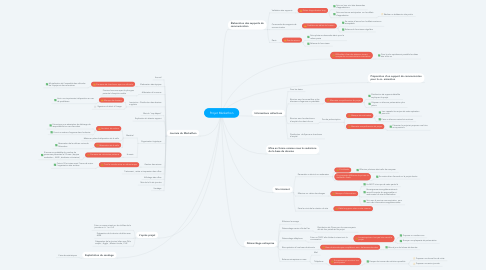 Mind Map: Projet Markethon