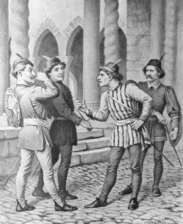 feuding families in romeo and juliet
