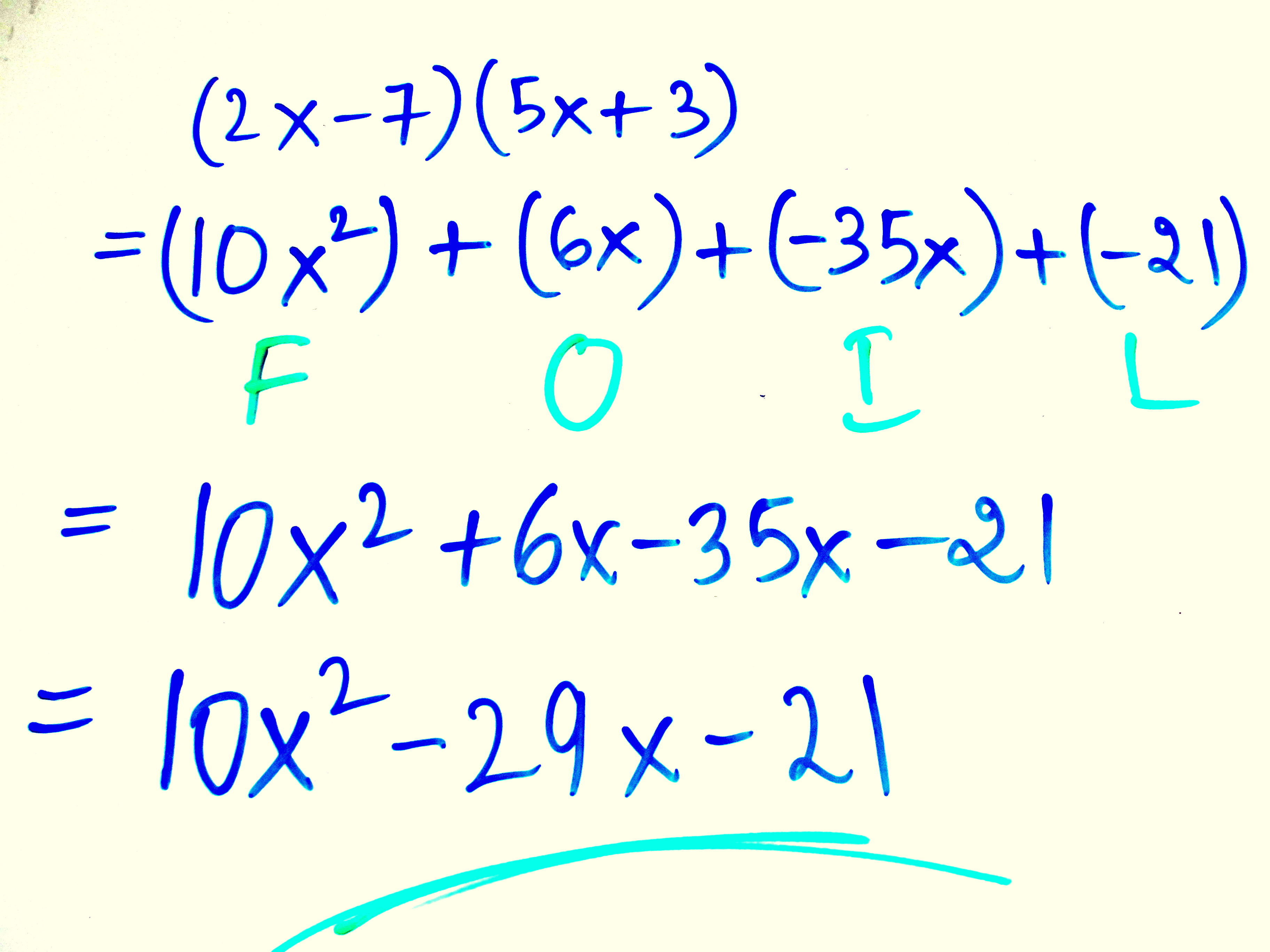 Arithmetic And Polynomial Expressions For Ninth G Example